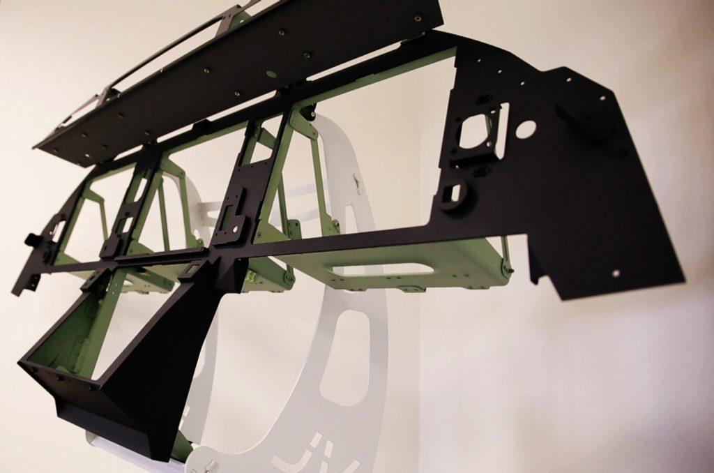 Fabrication et assemblage tableau de bord Falcon